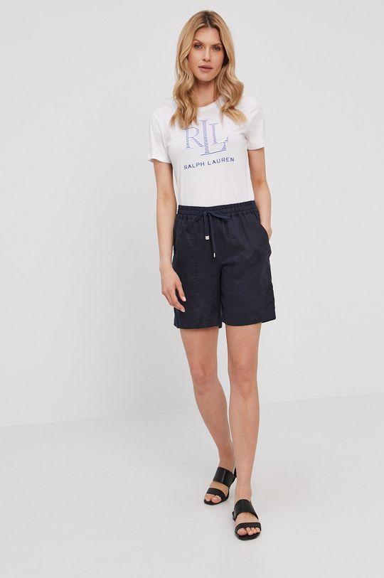 Lauren Ralph Lauren - T-shirt biały