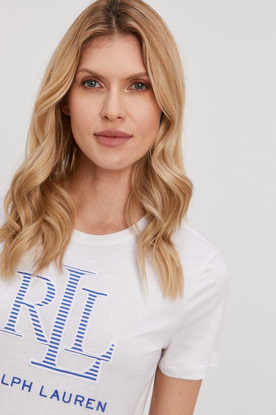 biały Lauren Ralph Lauren - T-shirt