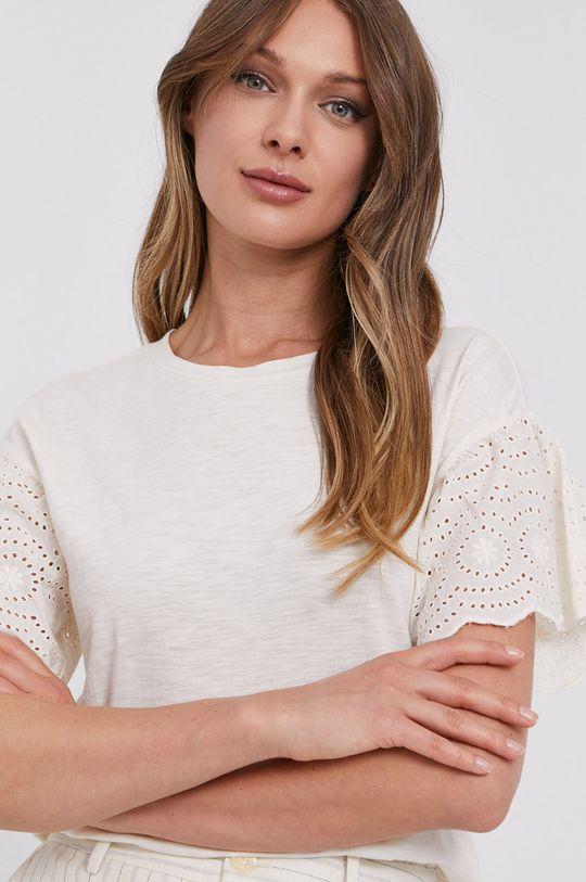 kremowy Lauren Ralph Lauren - T-shirt
