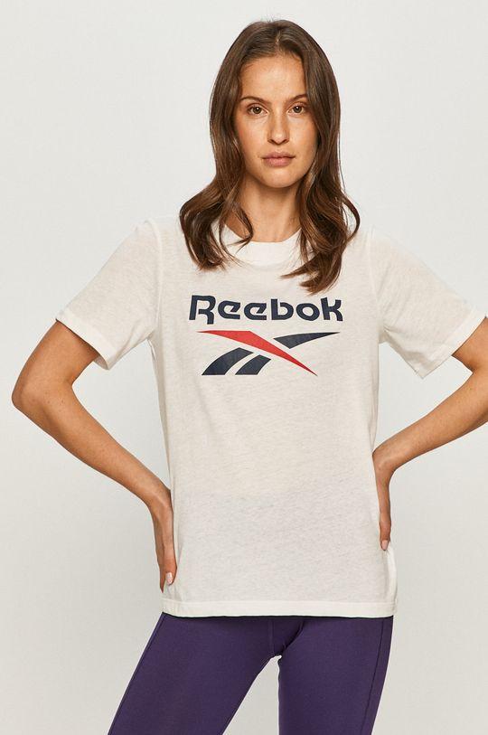biela Reebok - Tričko Dámsky