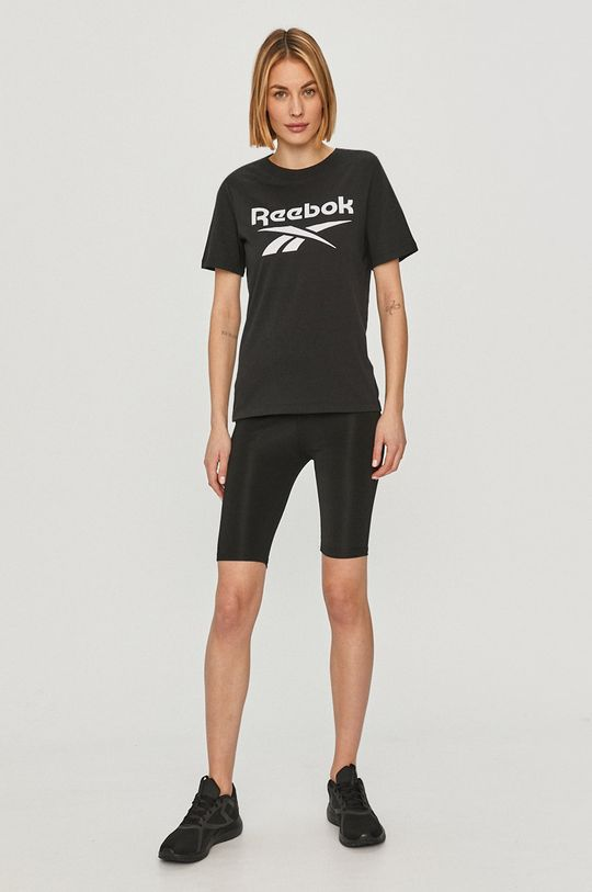 Reebok - T-shirt czarny