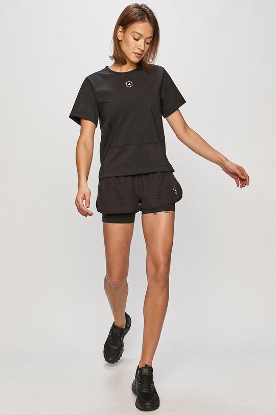 adidas by Stella McCartney - T-shirt czarny