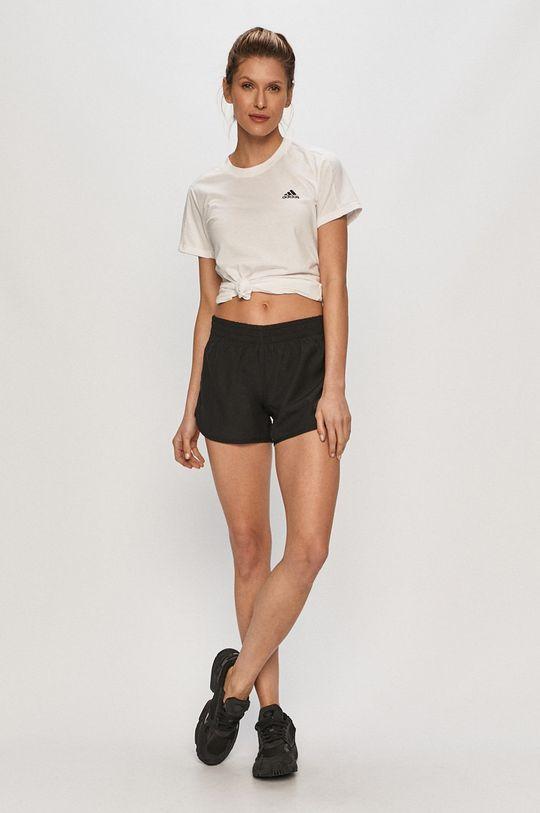 adidas - Tričko bílá