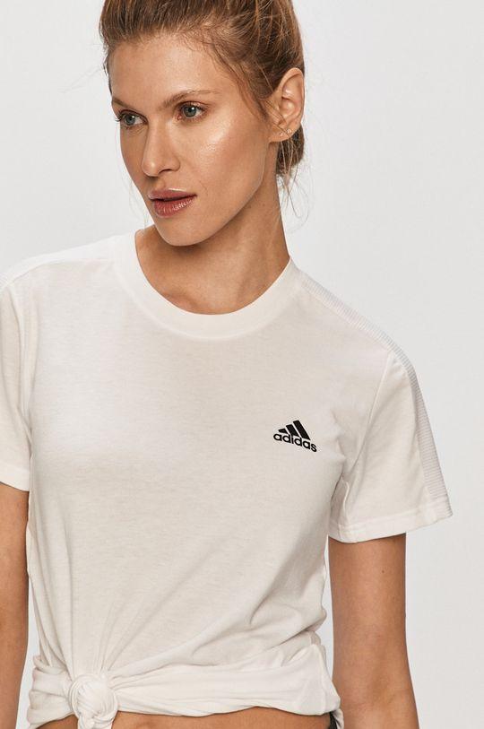 bílá adidas - Tričko