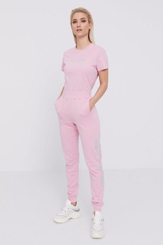 Karl Lagerfeld - T-shirt różowy
