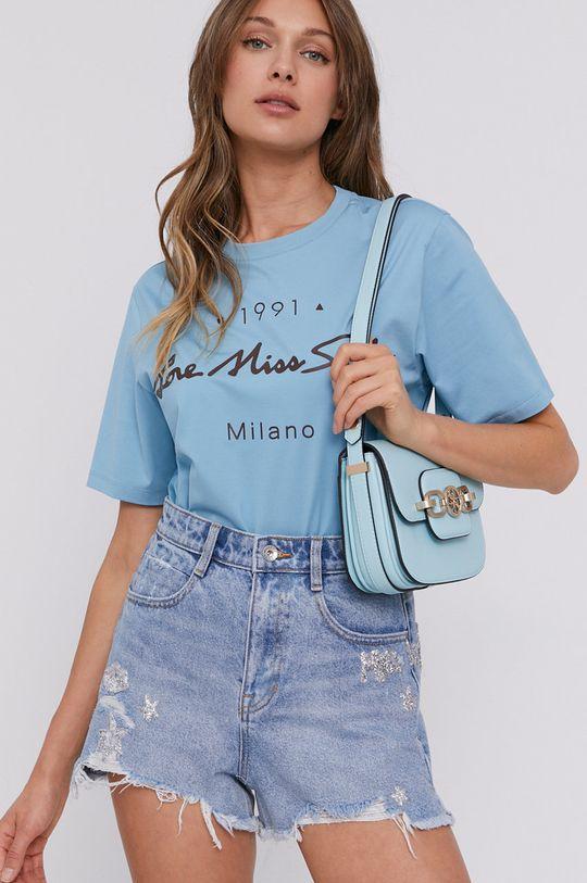 jasny niebieski Miss Sixty - T-shirt