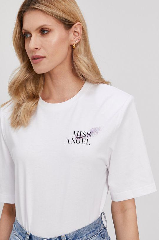 biały Miss Sixty - T-shirt Damski