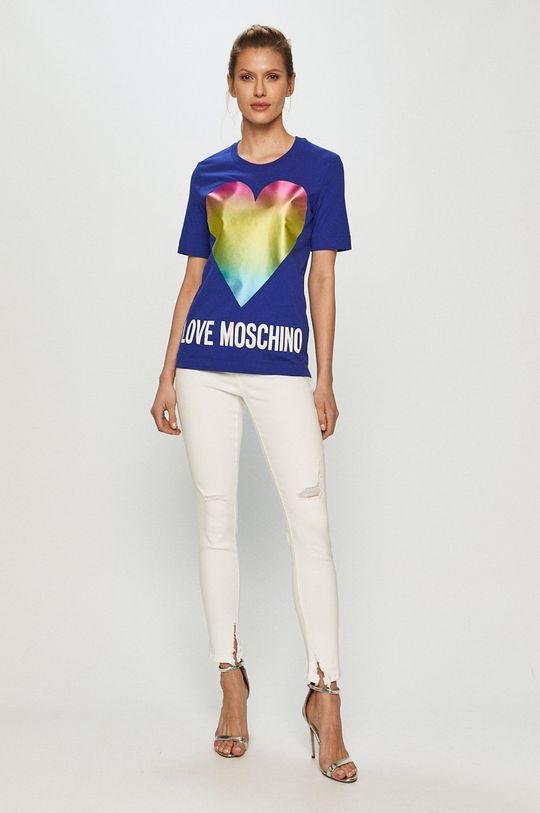 Love Moschino - Tričko modrá