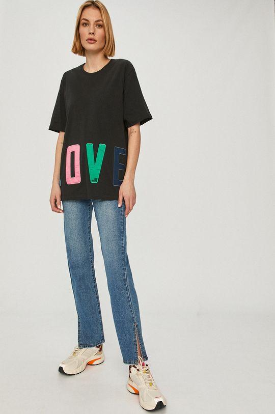 Love Moschino - Tričko čierna