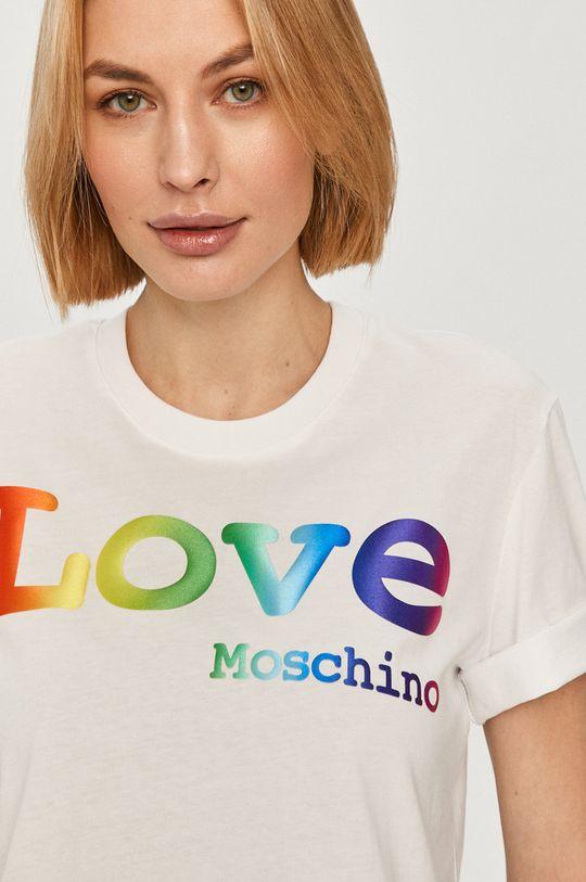 biela Love Moschino - Tričko