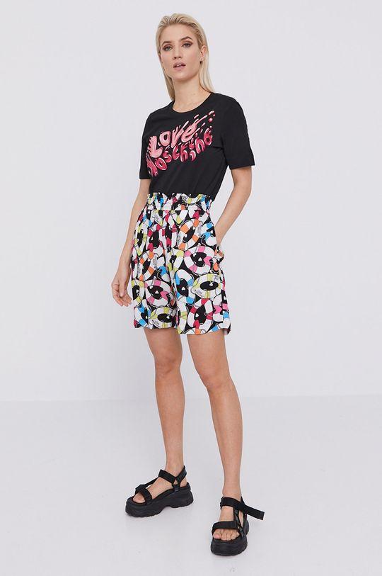 Love Moschino - T-shirt czarny