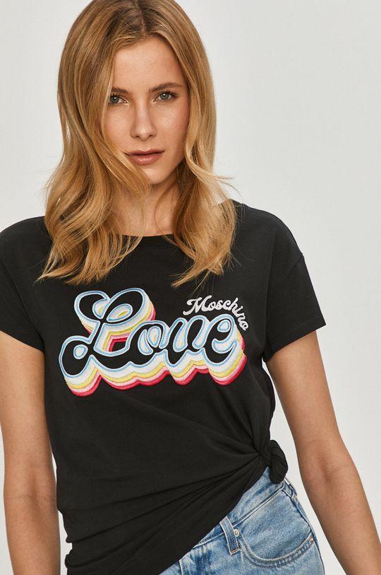 černá Love Moschino - Tričko Dámský