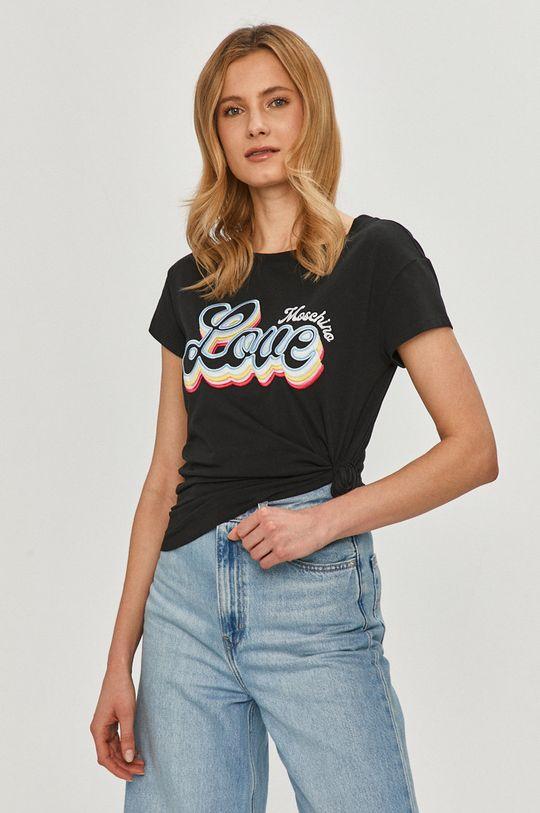černá Love Moschino - Tričko