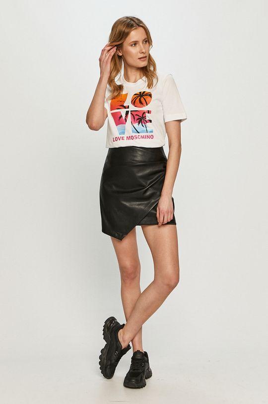 Love Moschino - Tričko biela