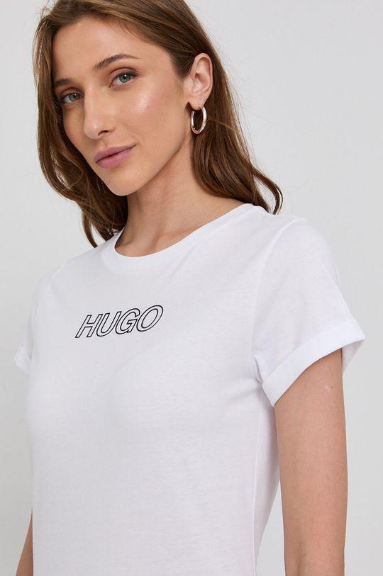 biały Hugo - T-shirt