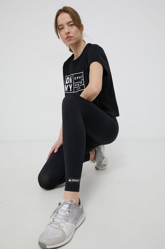 czarny Dkny - T-shirt Damski