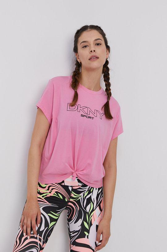 růžová Dkny - Tričko Dámský