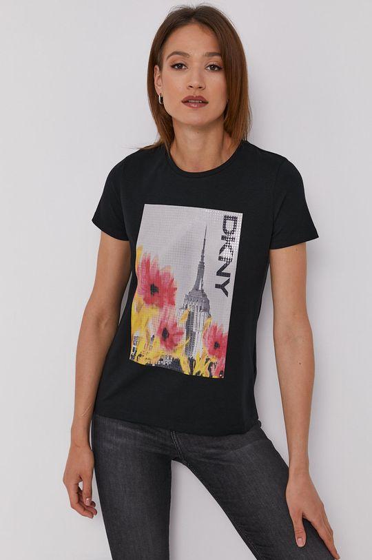 černá Dkny - Tričko Dámský