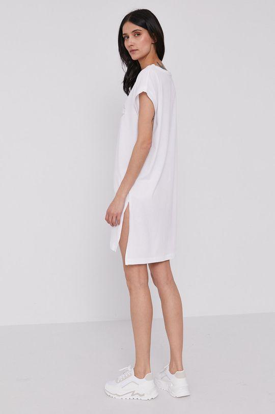 Dkny - Sukienka 54 % Bawełna, 6 % Elastan, 40 % Modal