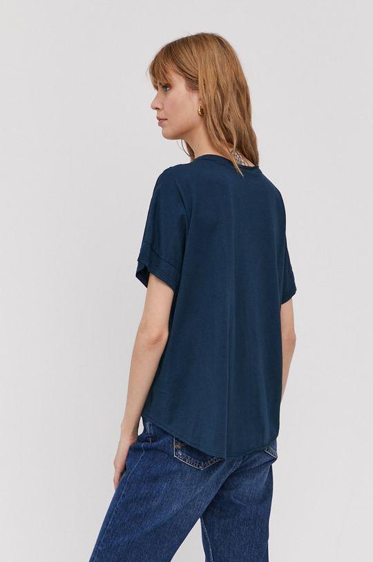 Dkny - T-shirt 60 % Bawełna, 40 % Modal