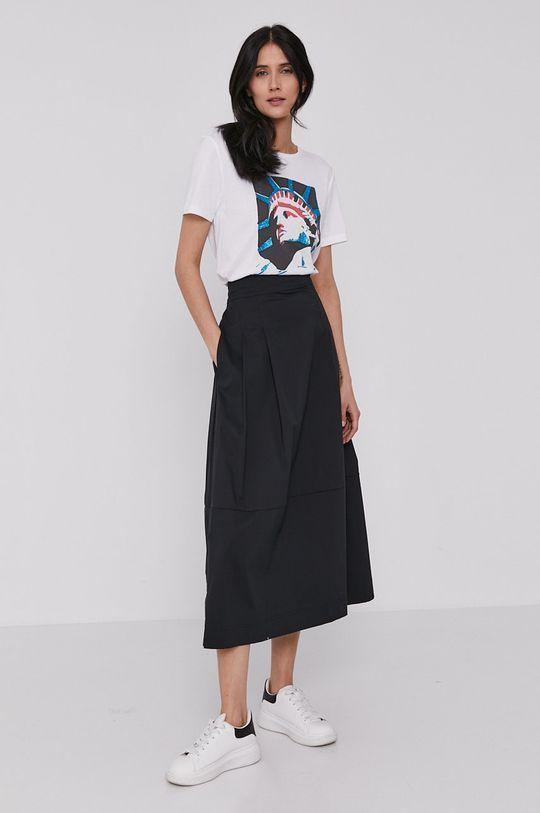 Dkny - T-shirt biały