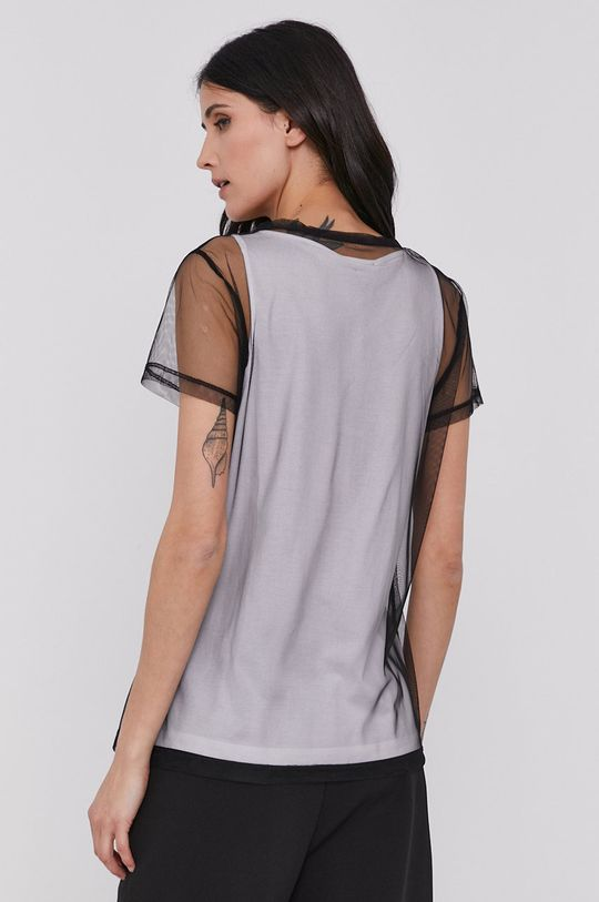 Dkny - T-shirt Materiał 1: 60 % Bawełna, 40 % Modal, Materiał 2: 100 % Poliester