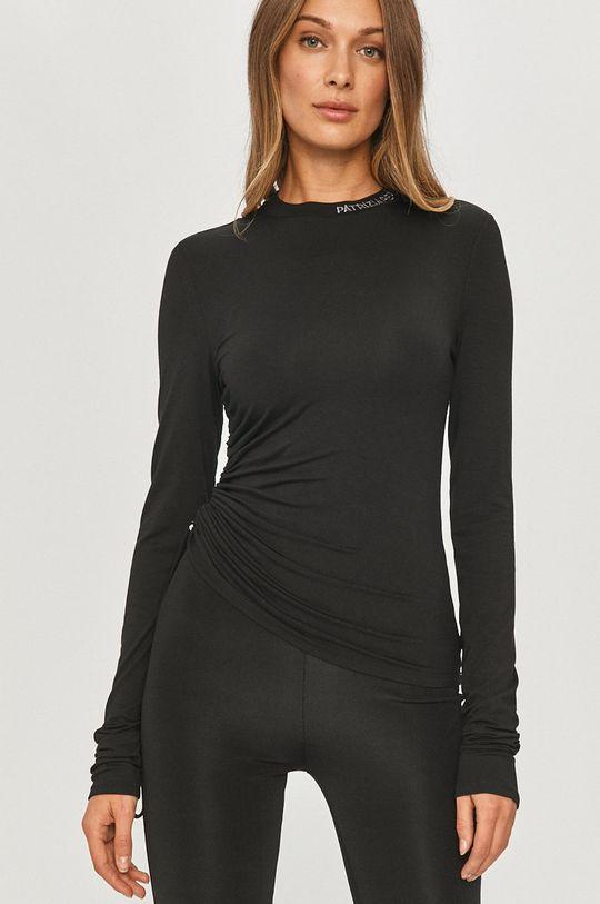 negru Patrizia Pepe - Longsleeve De femei