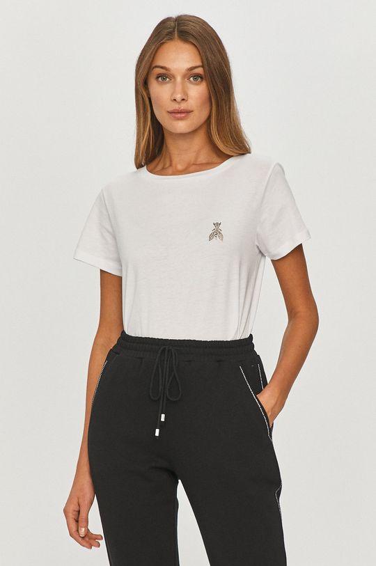 biały Patrizia Pepe - T-shirt Damski