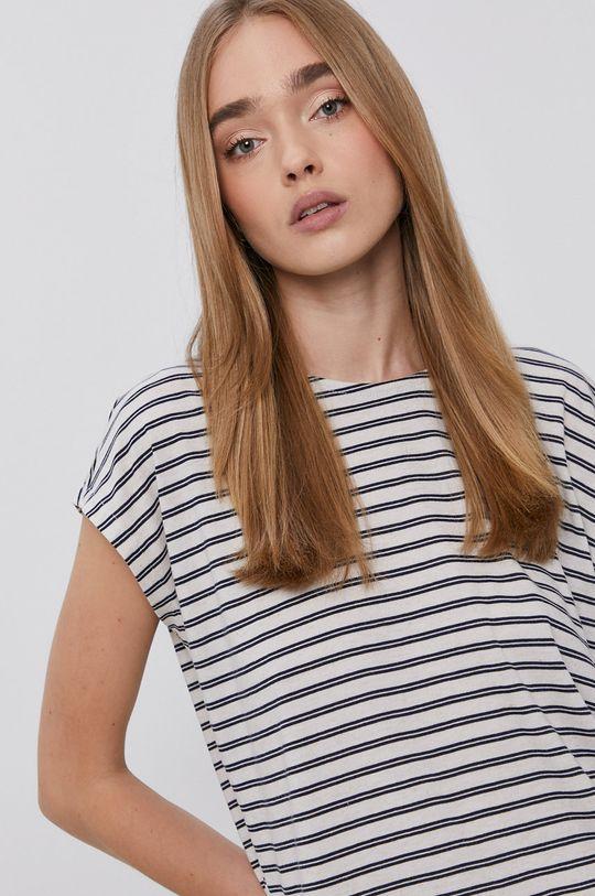 granatowy Vero Moda - T-shirt