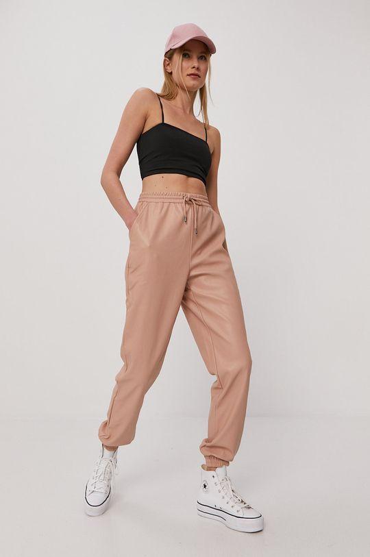 brudny róż Vero Moda - Spodnie
