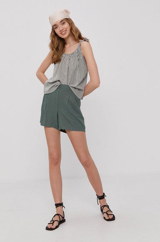 Vero Moda - Bluzka cyraneczka
