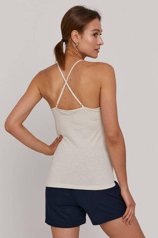 Vero Moda - Top  60% Organická bavlna, 40% Recyklovaný polyester