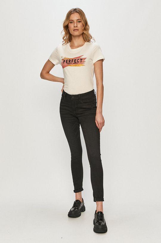 Vero Moda - Tričko biela