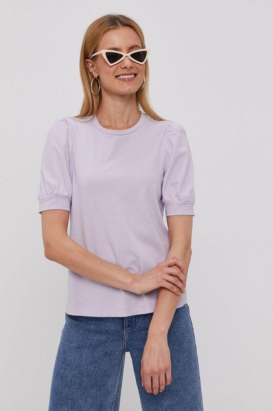 červenofialový Vero Moda - Tričko Dámsky