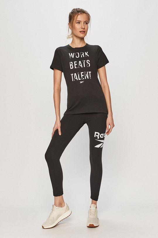 Reebok - Tričko čierna