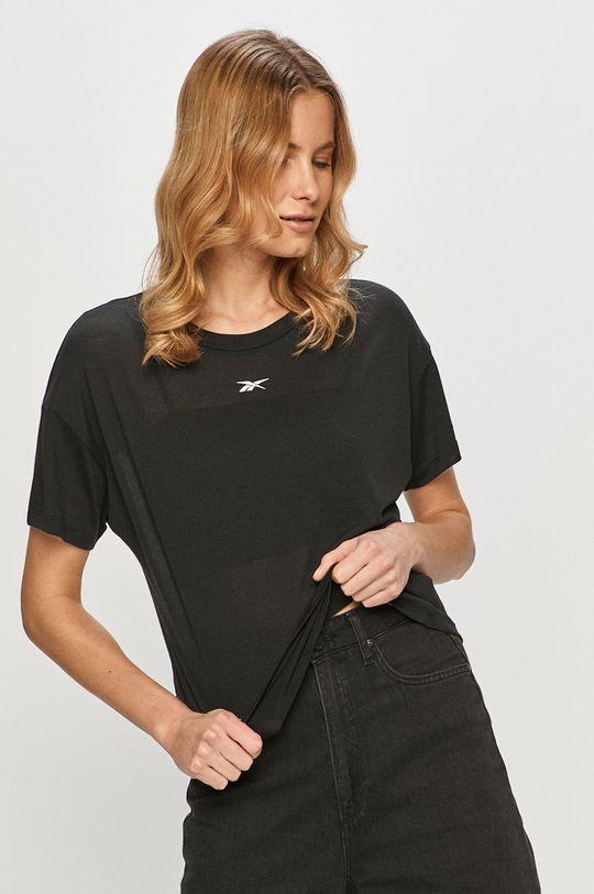 negru Reebok - Tricou De femei