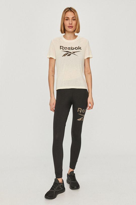 Reebok - Tričko krémová