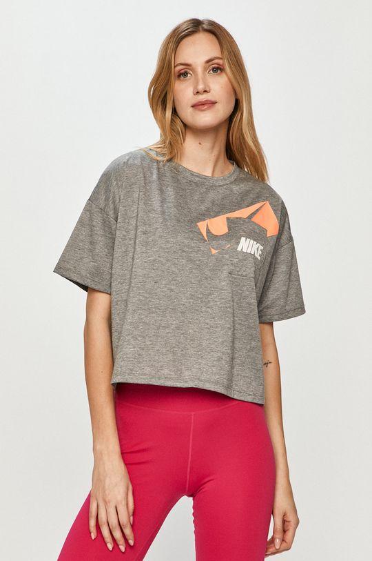 sivá Nike - Tričko Dámsky