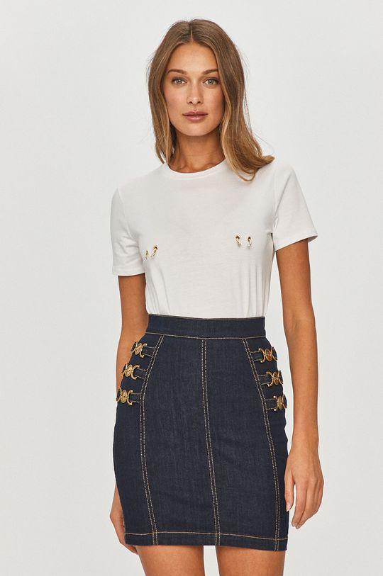 biały Elisabetta Franchi - T-shirt Damski
