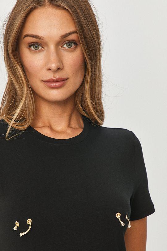 čierna Elisabetta Franchi - Tričko