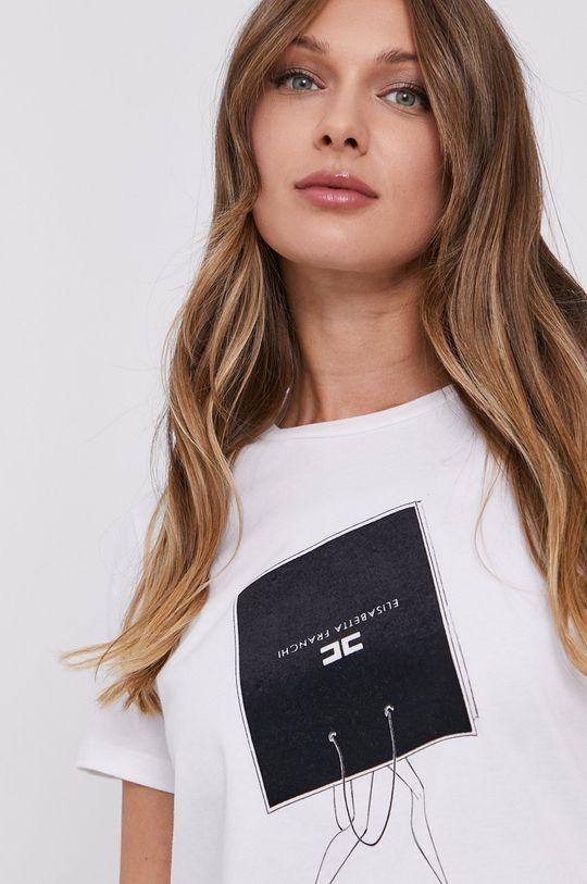 Elisabetta Franchi - T-shirt Damski