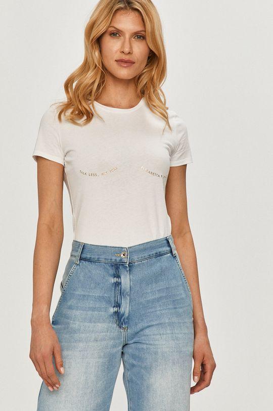 biały Elisabetta Franchi - T-shirt