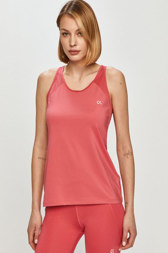 ostry różowy Calvin Klein Performance - Top Damski