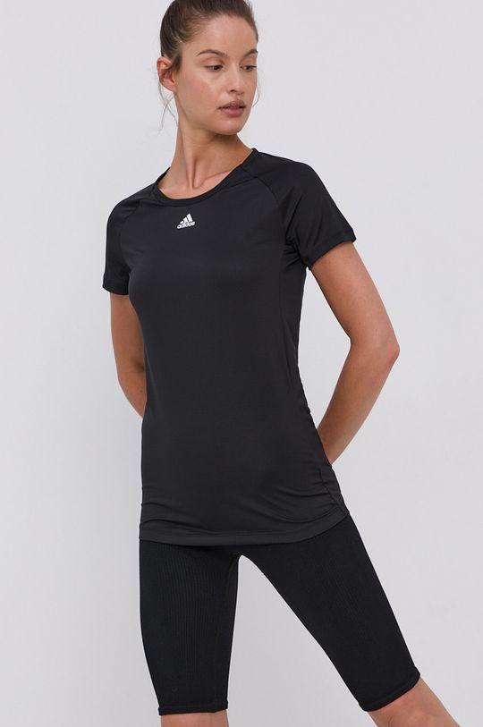 adidas Performance - Tričko černá