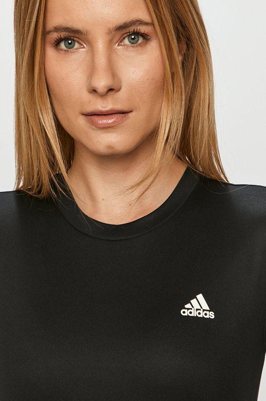 čierna adidas - Tričko