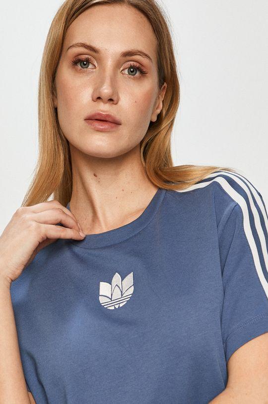 fialová adidas Originals - Tričko