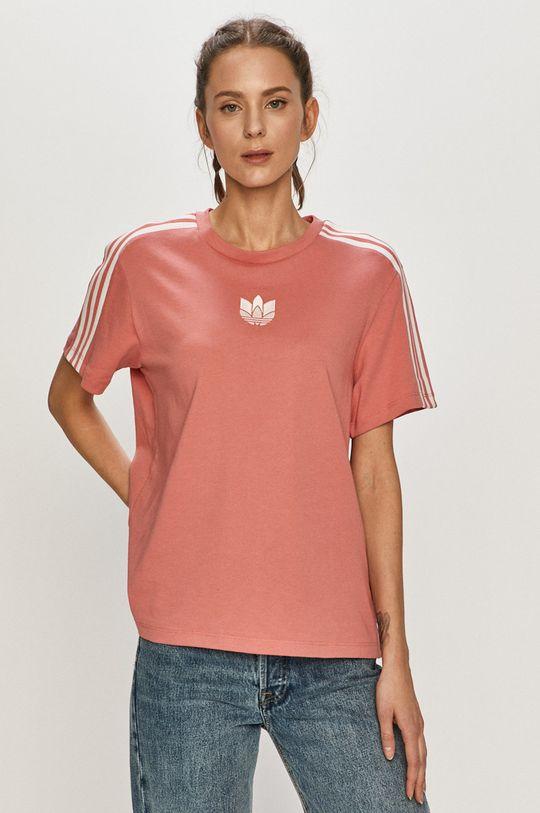 růžová adidas Originals - Tričko Dámský