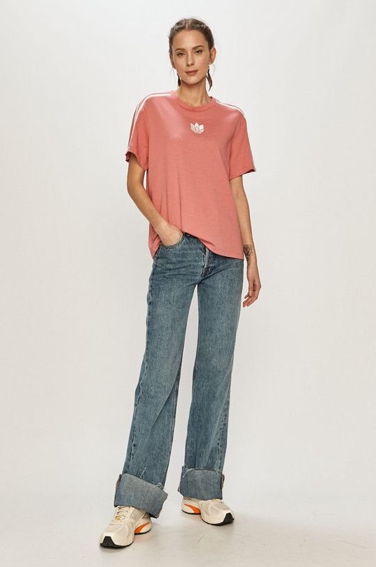 adidas Originals - Tričko růžová