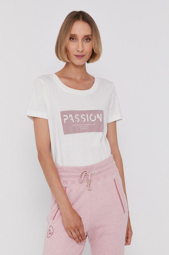 pastelowy różowy Mos Mosh - T-shirt Damski