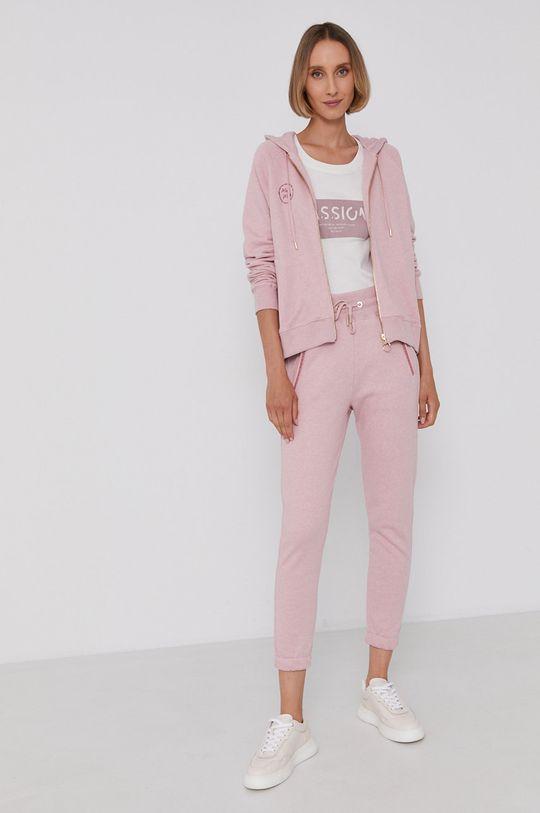 Mos Mosh - T-shirt pastelowy różowy